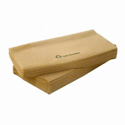 1 Ply Recycled Paper Napkins - 6000 Case